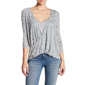 NEW Calypso St. Barth Faux Wrap Top